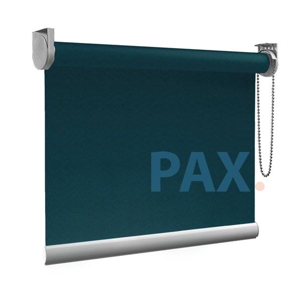 Afbeelding van Rolgordijn op maat goedkoop - Groen/Blauw zee Semi transparant