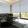 Afbeelding van XL Rolgordijn op maat Zijsteunen - Licht telegrijs Verduisterend