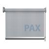Afbeelding van XL Rolgordijn op maat Zijsteunen - Grijs lichtblauw Verduisterend