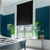 Afbeelding van Rolgordijn op maat met Montageprofiel - Zwart luxe Verduisterend