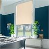 Afbeelding van Rolgordijn op maat met Montageprofiel - Beige luxe Verduisterend